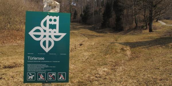 Naturschutzgebiet am Türlersee.