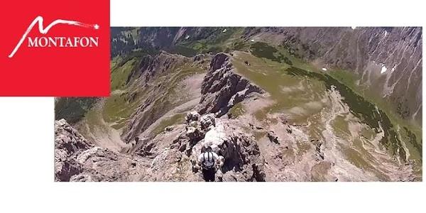 Klettern in Österreich: Klettersteig Saulakopf   Montafon