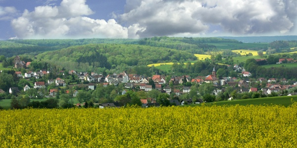 Blick auf Hornbach