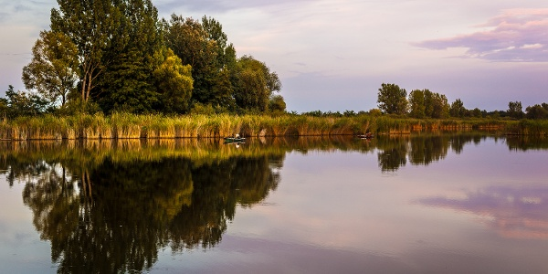 Horgászok a Vajai-tavon