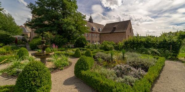 Kräutergarten am Klosterhotel