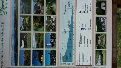 PP Streckewalde Karte mit Streckenprofil