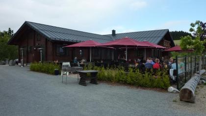 Terrasse der Graf Stolberg -Hütte