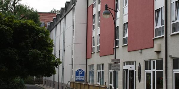 Außenansicht Parkhaus Dormero am Theater
