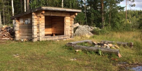 Vindskyddet i Viksjö