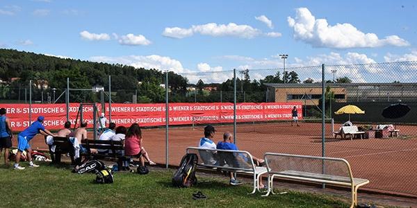Tennisplatz in Bad Waltersdorf