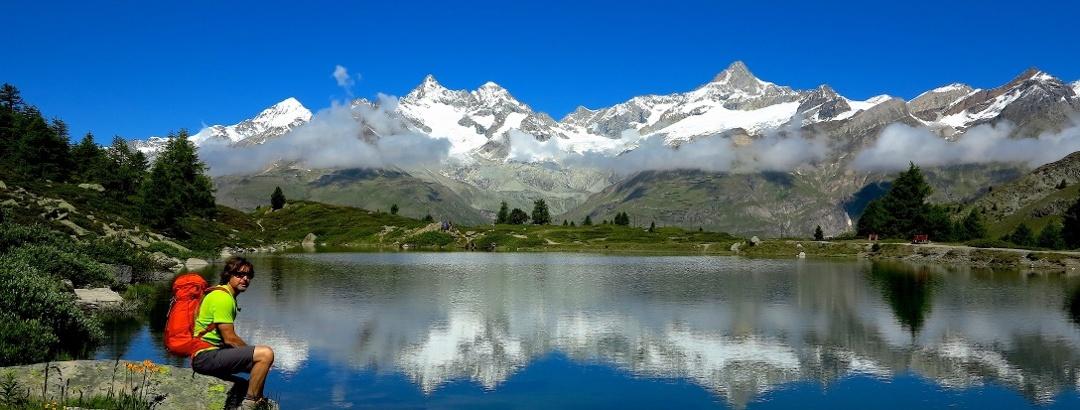 Jochen am Grünsee, Zermatt.