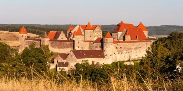 Die Burg Harburg