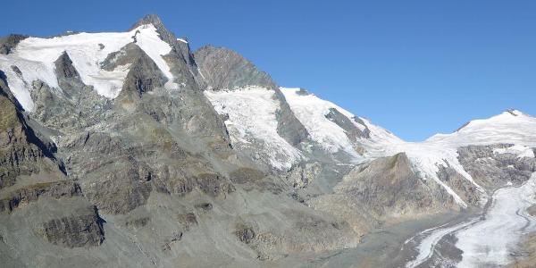 Großglockner mit Pastetze (Gletscher)