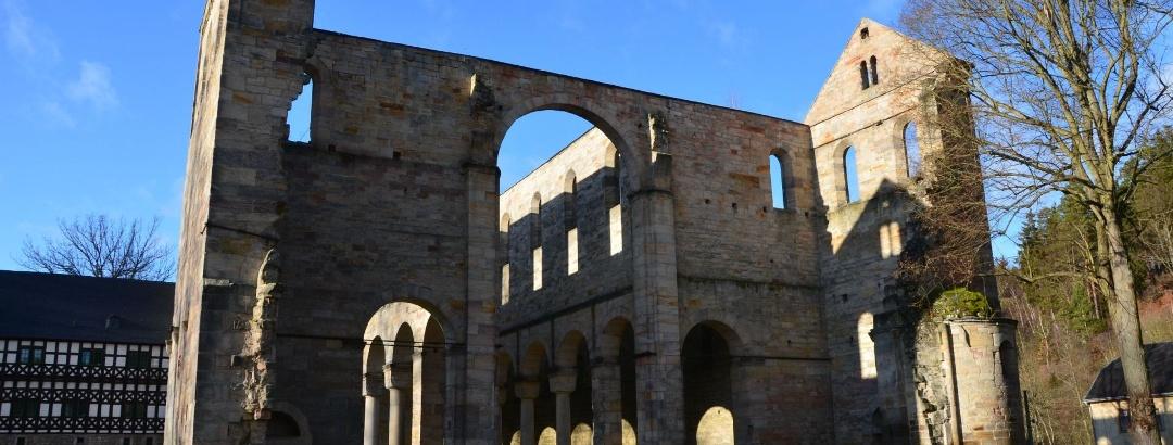 Ausflugsziel: Klosterruine Paulinzella