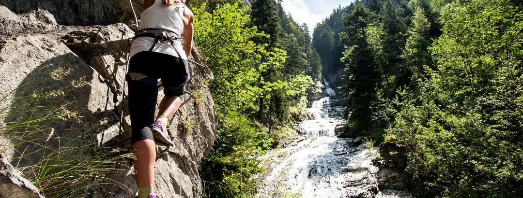 Klettersteig von Tière