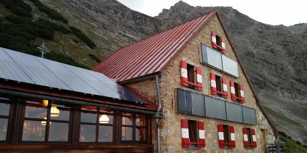 Bettelwurfhütte.. I'll sleep here.. 26.08.2017