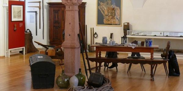 Flößerstube im Museum Schloss Wolfach