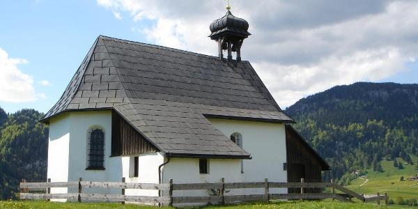Kapelle im Obermaiselsteiner Ortsteil Oberdorf