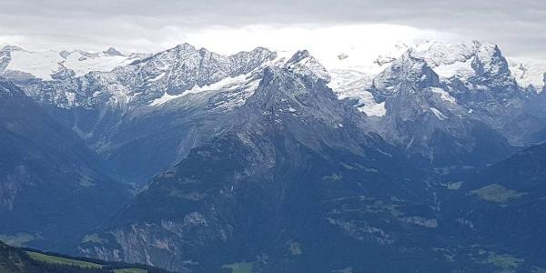 Blick Richtung Berner Alpen