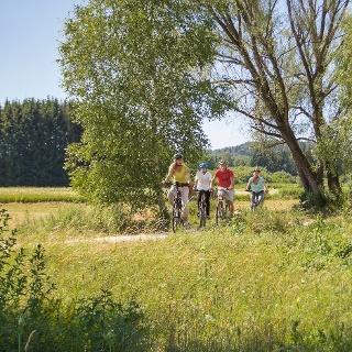 Auf dem Mindeltal-Radweg