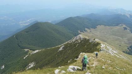 Descend from Sveto Brdo to Dušice