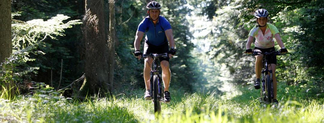 Mountainbiken in Freudenstadt im Schwarzwald