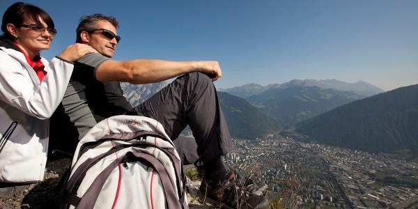 Tiefblick auf die Stadt Chur