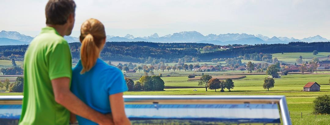Alpenblick von Hartenthal