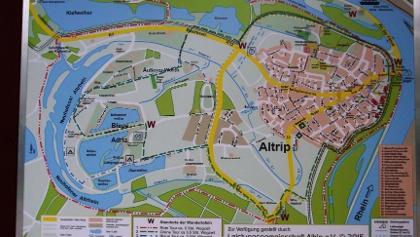"""Karte zur Altriper """"Seenplatte"""""""