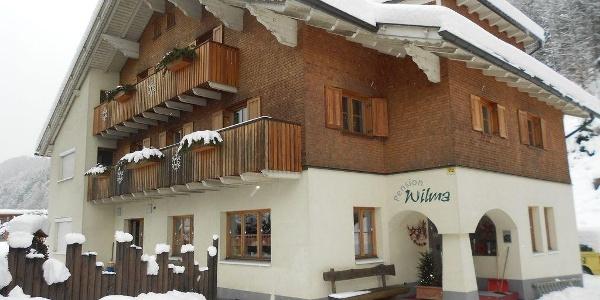 Winter Bild vom Haus