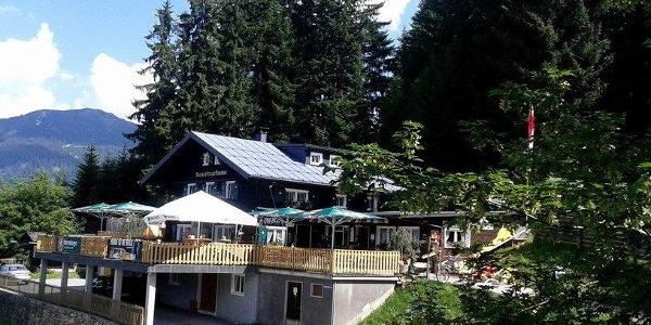 Gasthaus Kropfen mit Terrasse