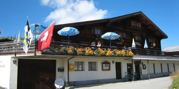 Berghaus Obergmeind Sommer