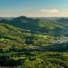Aussicht auf Burg Trifels und Annweiler