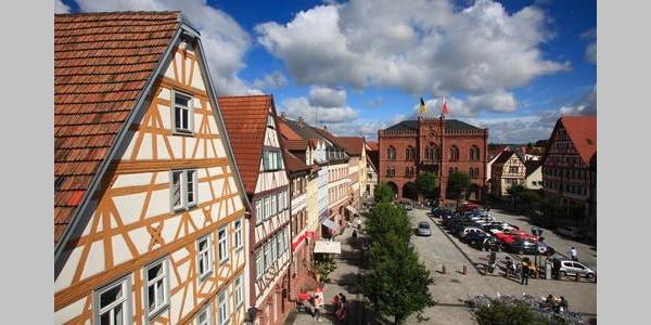 Tauberbischofsheimer Marktplatz
