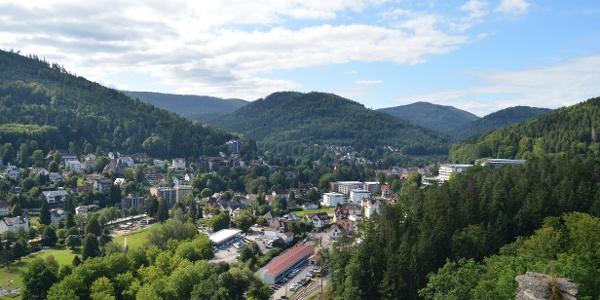 Ausblick vom Falkensteinfelsen
