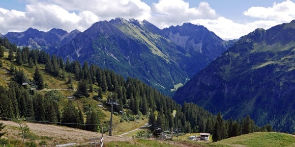 Prächtige Allgäuer Alpen