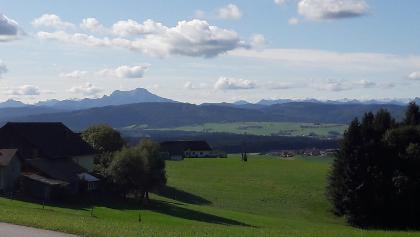 Blick in die Alpen (Schafberg)