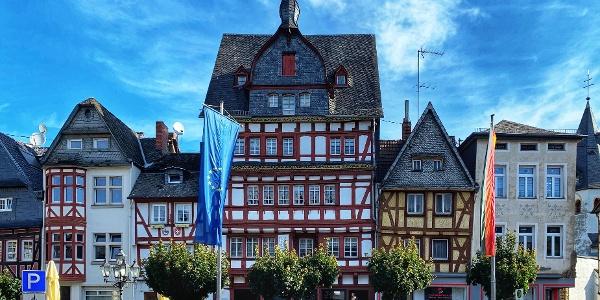 Marktplatz Häuserzeile