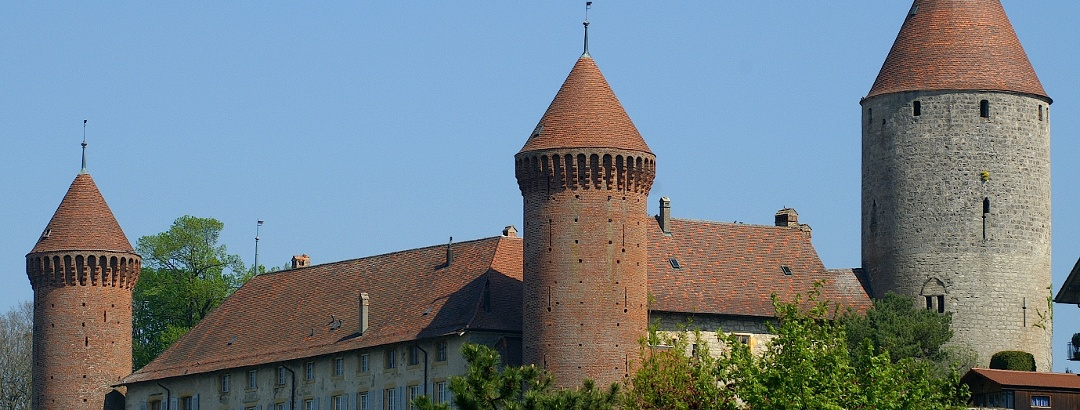 Schloss Chenaux in Estavayer-le-Lac.