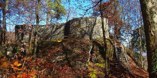 Ruine Alt Schauenburg.
