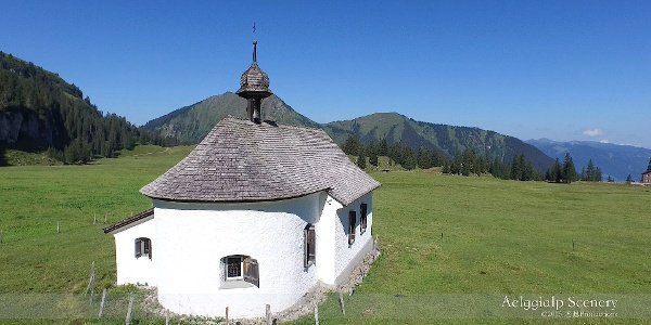 4k Aelggi-Alp,  Center of SWITZERLAND アルプス山脈