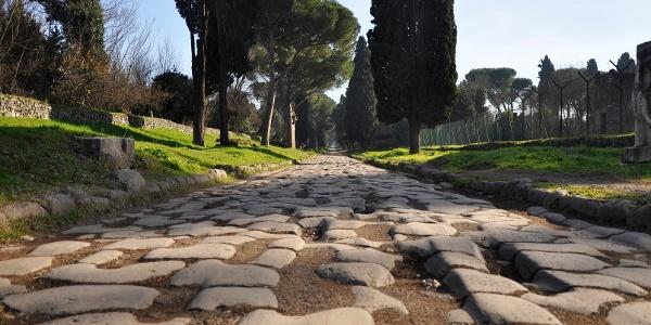 "A few tracks of the original route called ""Via Appia Antica"" are still preserved."