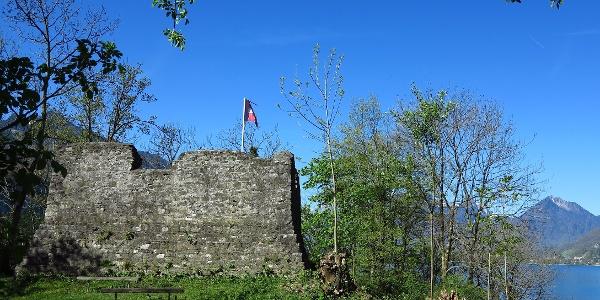 Ruine Stralegg.