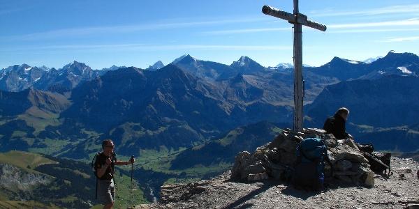 Albristhorn Gipfel.