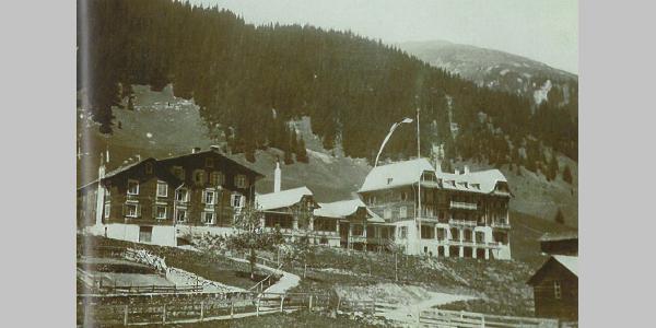 Hotel Madrisa kurz nach 1905