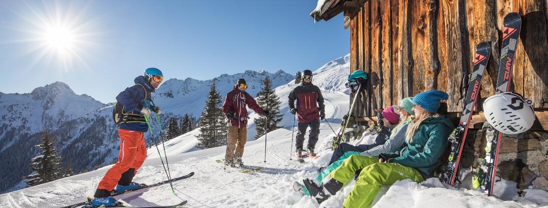 Descanso en la estación de esquí de Ski Juwel Alpbachtal Wildschönau
