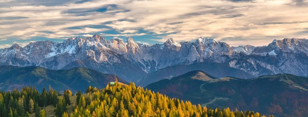 נוף הררי באוסטריה