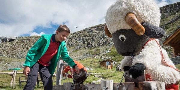 Le Wolli Adventure Park Sunnegga offre de nombreuses possibilités de jeux et de découvertes pour les enfants.
