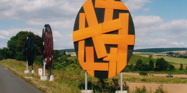 Skulptur Freiheit, Liebe, Tod