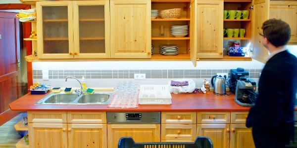 Jól felszerelt konyha a Szalajka-házban