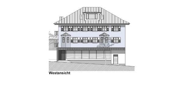 Villa Blau aussen west