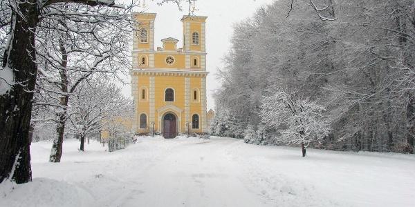 Breiteggerkirche im Winter (c) Gerhard Steinwender