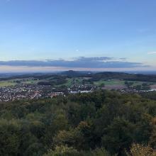 Blick vom Luisenturm bis zum Bielefelder Funkturm