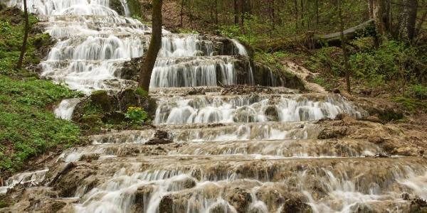 Fátyol-vízesés a Szalajka-völgyben